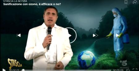 Sanificazione con ozono, è efficace o no - Striscia la notizia Video